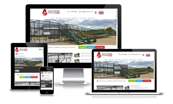 Visit Access Solutions - Web Designer Stoke on Trent