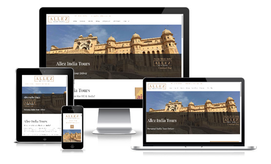 Allez India Tours - Web Designer Stoke on Trent