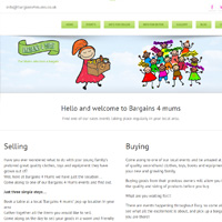 Web Design Stoke - Bargains 4 Mums - For Mums Who Love A Bargain Telephone 01782 512341