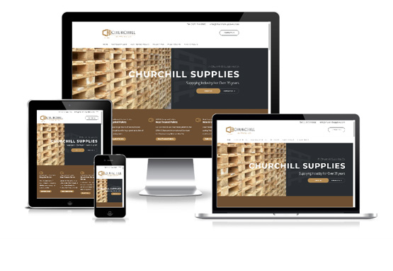 Visit P Churchill Supplies - Web Designer Stoke on Trent
