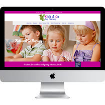 Web Designer Stoke For Kids and Co Day Nursery