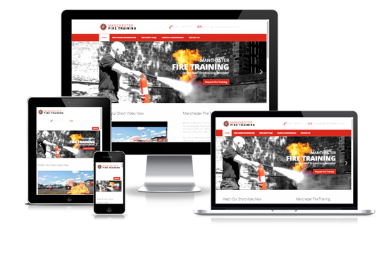 Manchester Fire Training - Web Designer Stoke on Trent