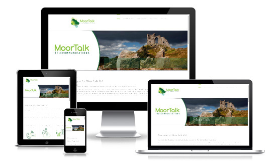 Visit MoorTalk Telecommunications - Web Designer Stoke on Trent