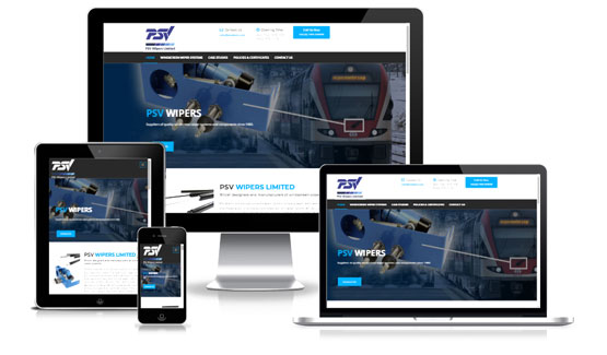 PSV Wipers  - Web Designer Stoke on Trent