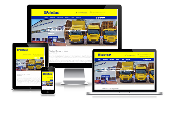 Palletland - Web Designer Stoke on Trent