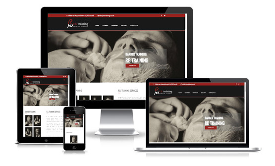 Visit RB Barber Training - Web Designer Stoke on Trent