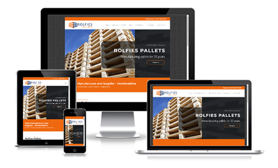 Rolfies Pallets Herefordshire - Web Designer Stoke on Trent