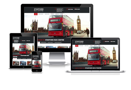 Visit Stafford Bus Centre - Web Designer Stoke on Trent