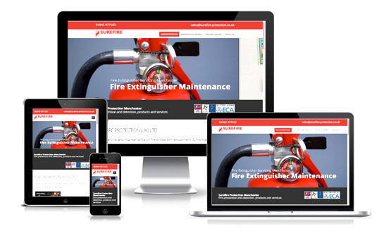 Visit Surefire Protection - Web Designer Stoke on Trent