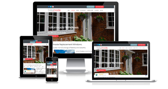 Web Design Stoke on Trent For Tailormade Windows and Doors Staffordshire