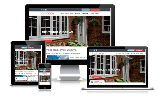 Visit Tailormade Windows and Doors - Web Designer Stoke on Trent