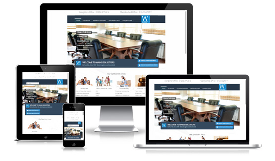 Wains Solicitors  - Web Designer Stoke on Trent