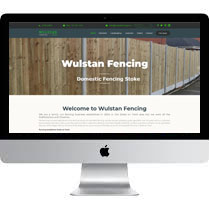 Web Designer Stoke For Wulstan Fencing