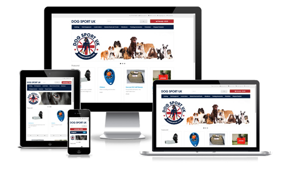 Dog Sport UK - Web Designer Stoke on Trent