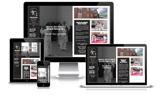 Martial Arts Biddulph  - Web Designer Stoke on Trent